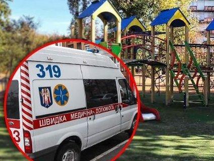 На Київщині дитина травмувалася на сучасному дитмайданчику