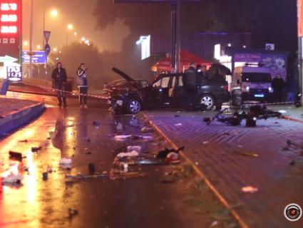 В крові копа, який зніс зупинку в Броварах, було 2 проміле алкоголю (відео)