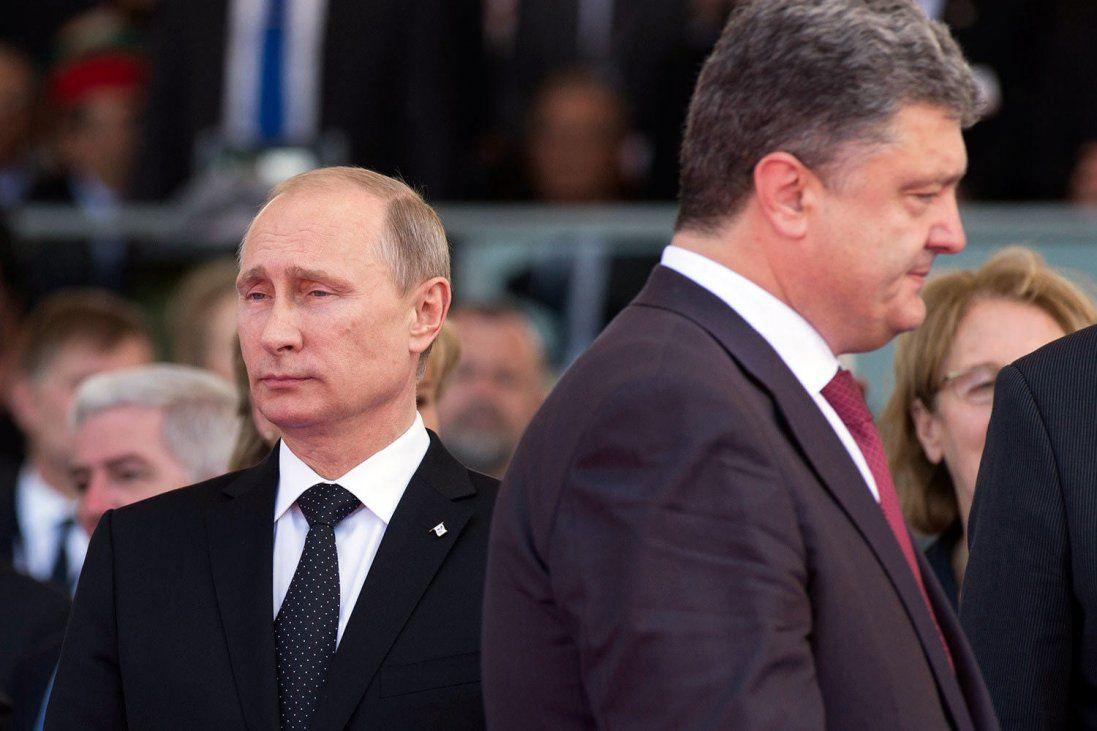 Як Путін розмовляв із Порошенком