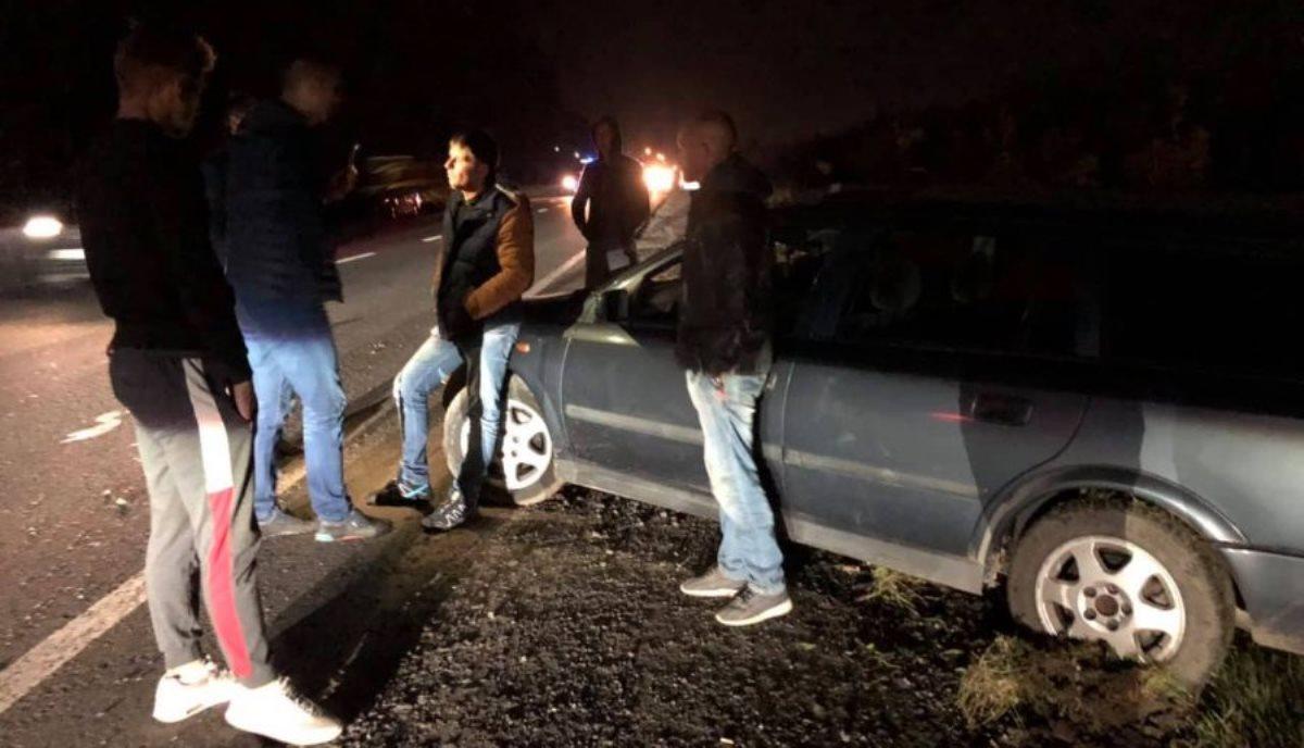 Під Луцьком п'яний водій збив велосипедиста (відео)