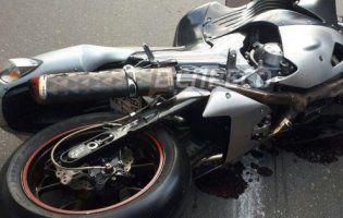 П'яний волинянин впав з мотоцикла і «загримів» у лікарню