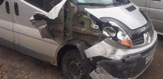 ДТП на Волині: зіштовхнулися два автомобілі (фото)