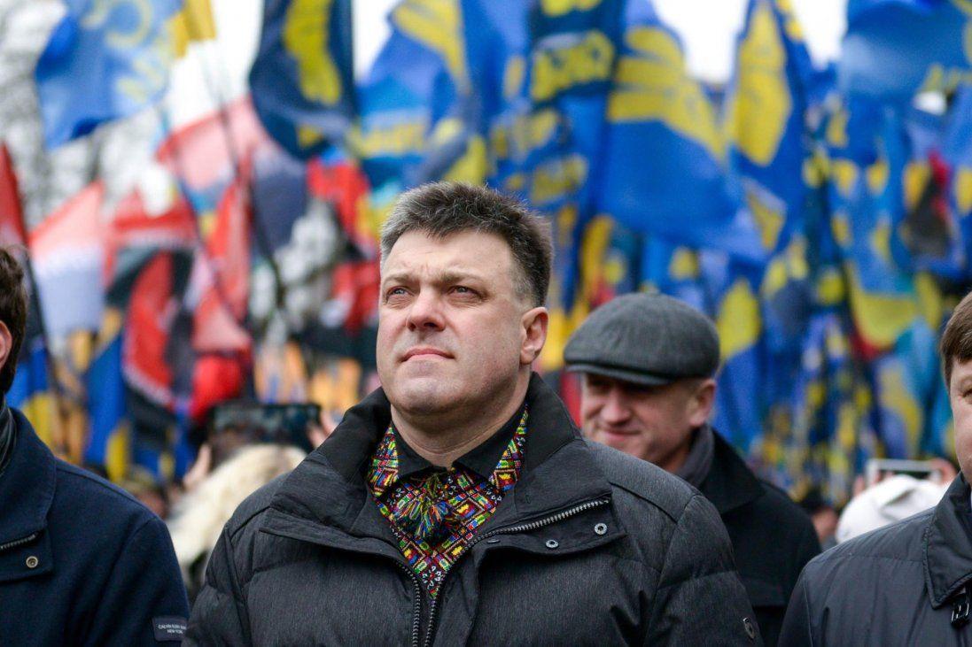 «У вас підгорає»: Тягнибок «трольнув» Зеленського через протести в регіонах
