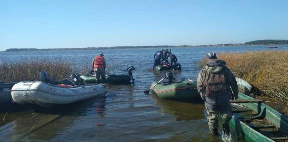 Пошуки Олексія Веремійчика: обстежили 15 гектарів дна озера (фото, відео)