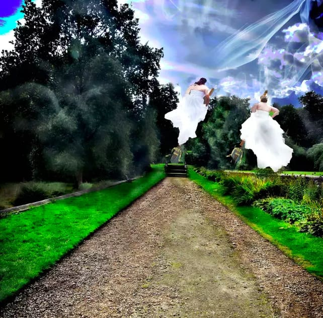 Лейсбійське весілля у стилі Гаррі Поттера: смішні фото