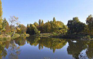 Гарячі фото осені в парку 900-річчя в Луцьку