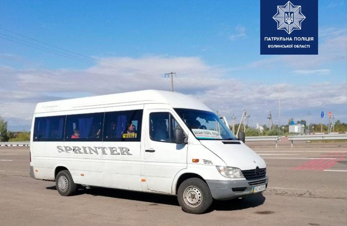 Волинського водія оштрафували на 17 тисяч гривень
