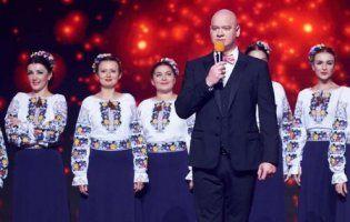 У шоу «Кварталу 95» хор імені Верьовки заспівав про згорілий будинок Гонтаревої (відео)