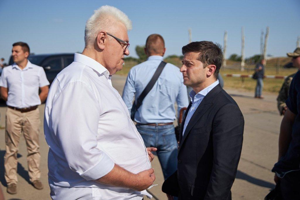 Сивоха поїхав на Донбас