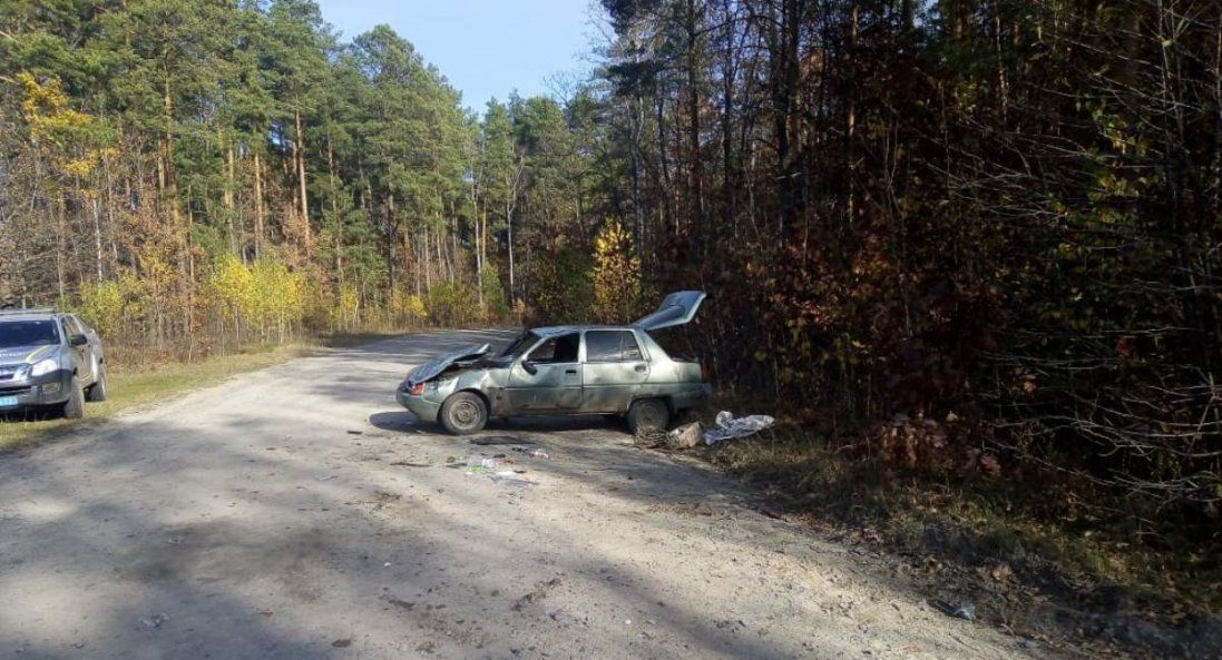 На Волині перекинувся автомобіль – постраждав неповнолітній