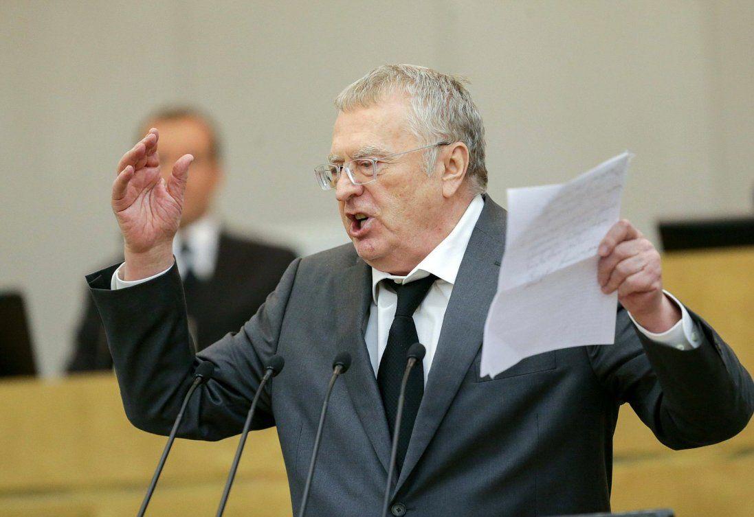 Жириновський під прицілом українського суду