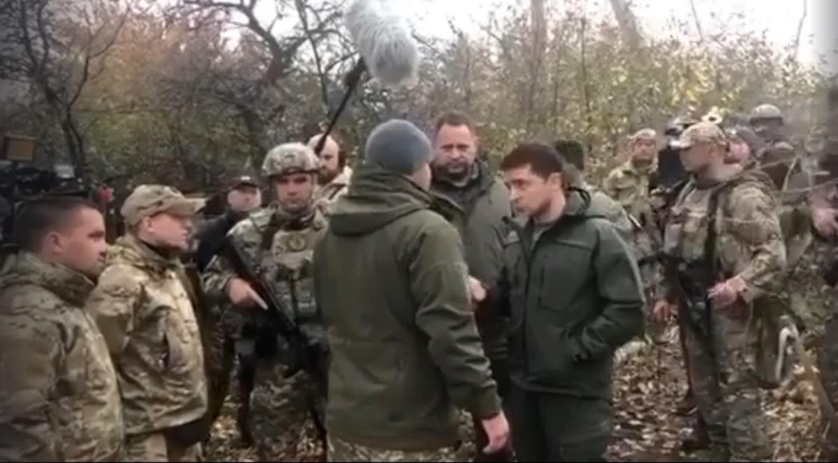 «Я – президент, не лох какой-то»: хамовита розмова Зеленського з атовцями (відео)