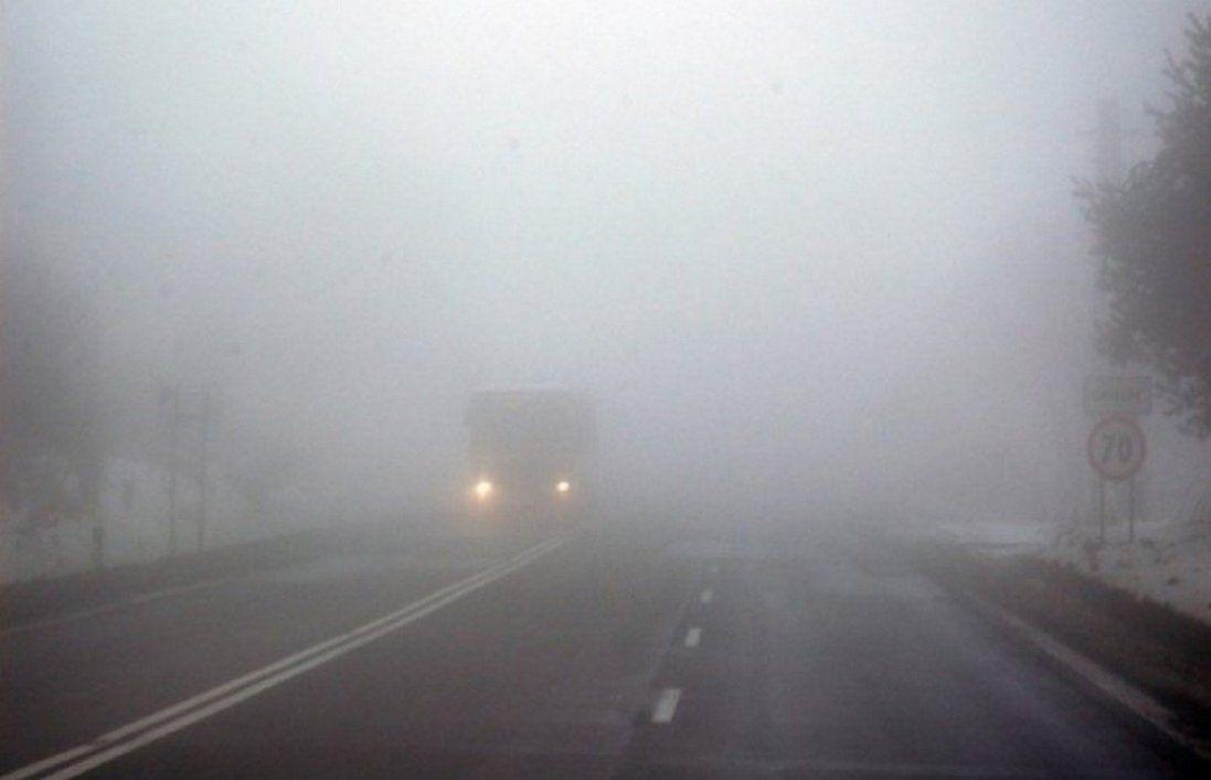 Через туман оголосили штормове попередження