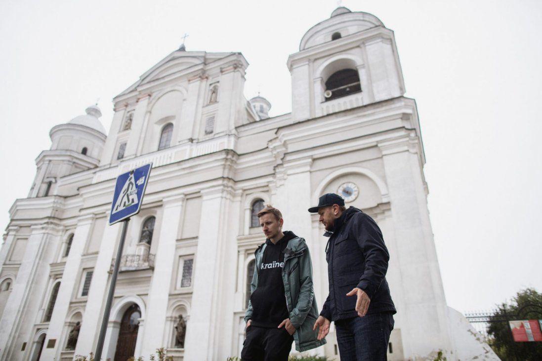 Що розповів Олександр Положинський про Луцьк (фото, відео)