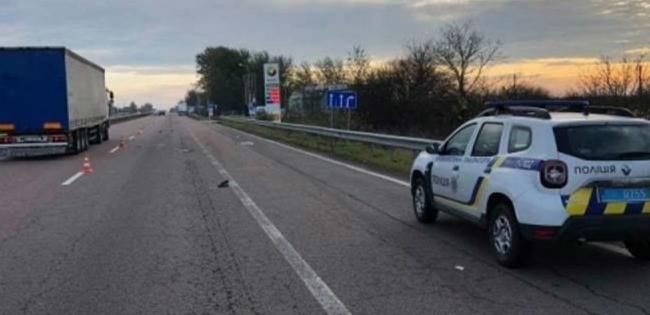 Волинянин загинув під колесами вантажівки (фото)