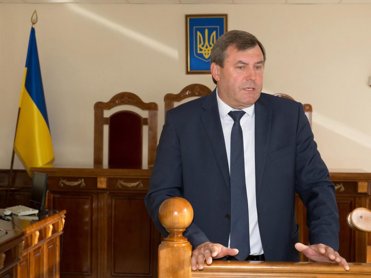 Волинянин Петро Філюк склав присягу в КСУ