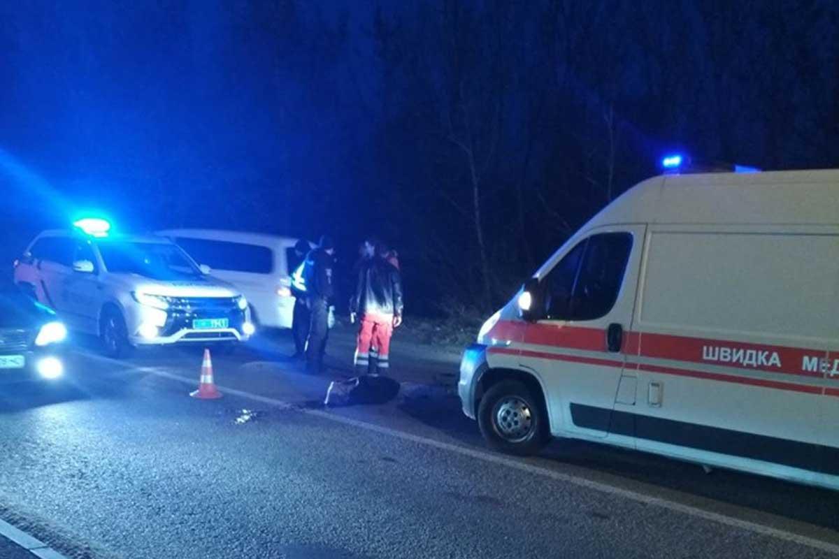 Євробляха насмерть збила людину на переході в Луцьку (фото)