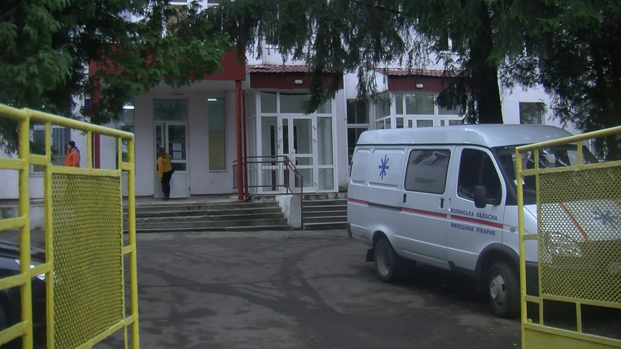Інфекційна лікарня в Луцьку – два дні без води і тепла (відео)
