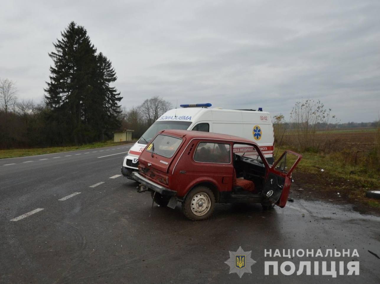 У ДТП на Волині – троє постраждалих (фото)