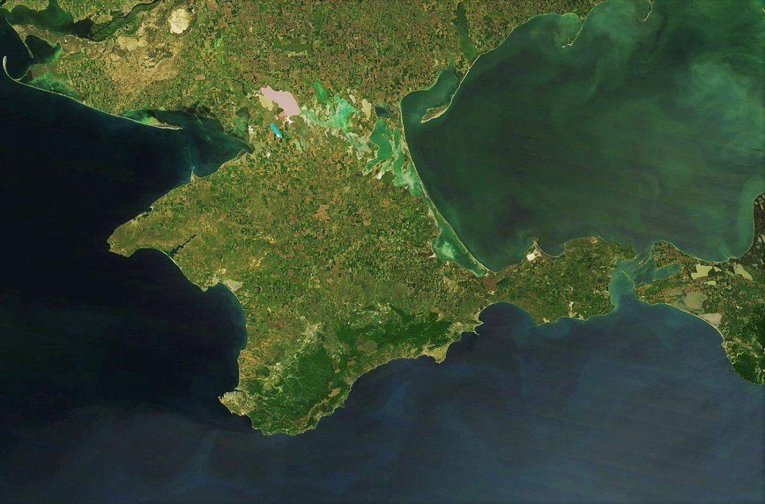 Український банк від'єднав на карті Крим від України