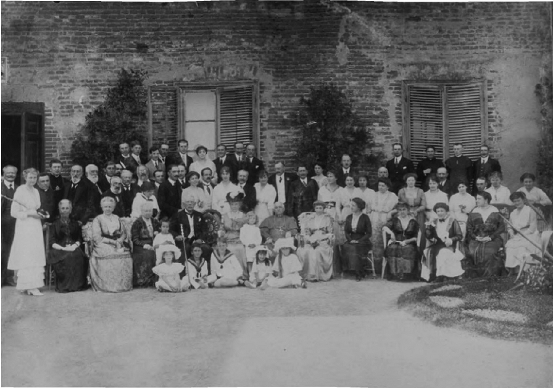 Раритетні фото «золотого весілля» в Олиці 100 років тому