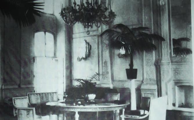 Одна із кімнат в Олицькому замку, поч. ХХ ст.