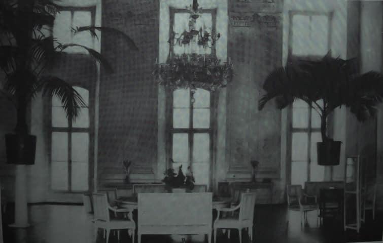 Вигляд кімнати в Олицькому замку, поч. ХХ ст.