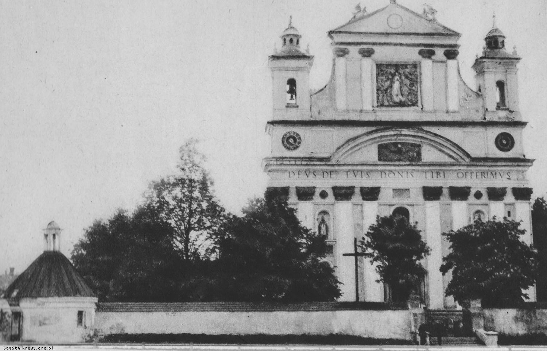 Колегіальний костел Святої Трійці, поч. ХХ ст.