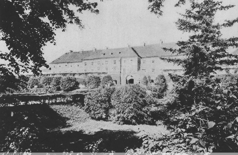 Олицька резиденція Радзивіллів, 1910-ті роки.