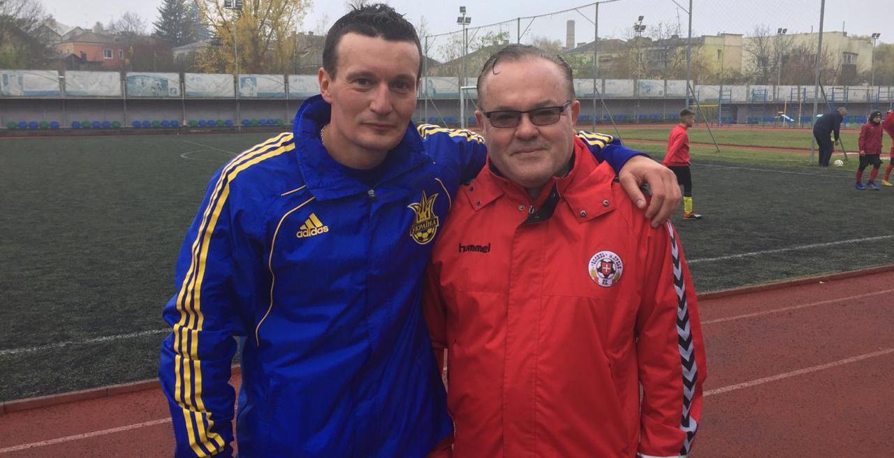 Знаменитий футболіст з Луцька підтримав Ігоря Коцана на виборах ректора