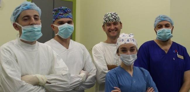 На Волині лікарі у три проколи видалили пухлину нирки (фото)
