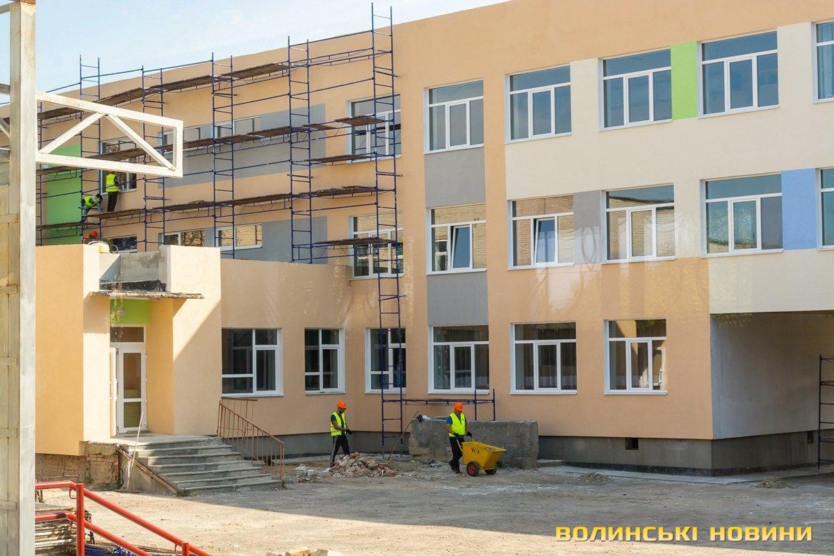 На Волині ремонтують школу за мільйон євро (відео)