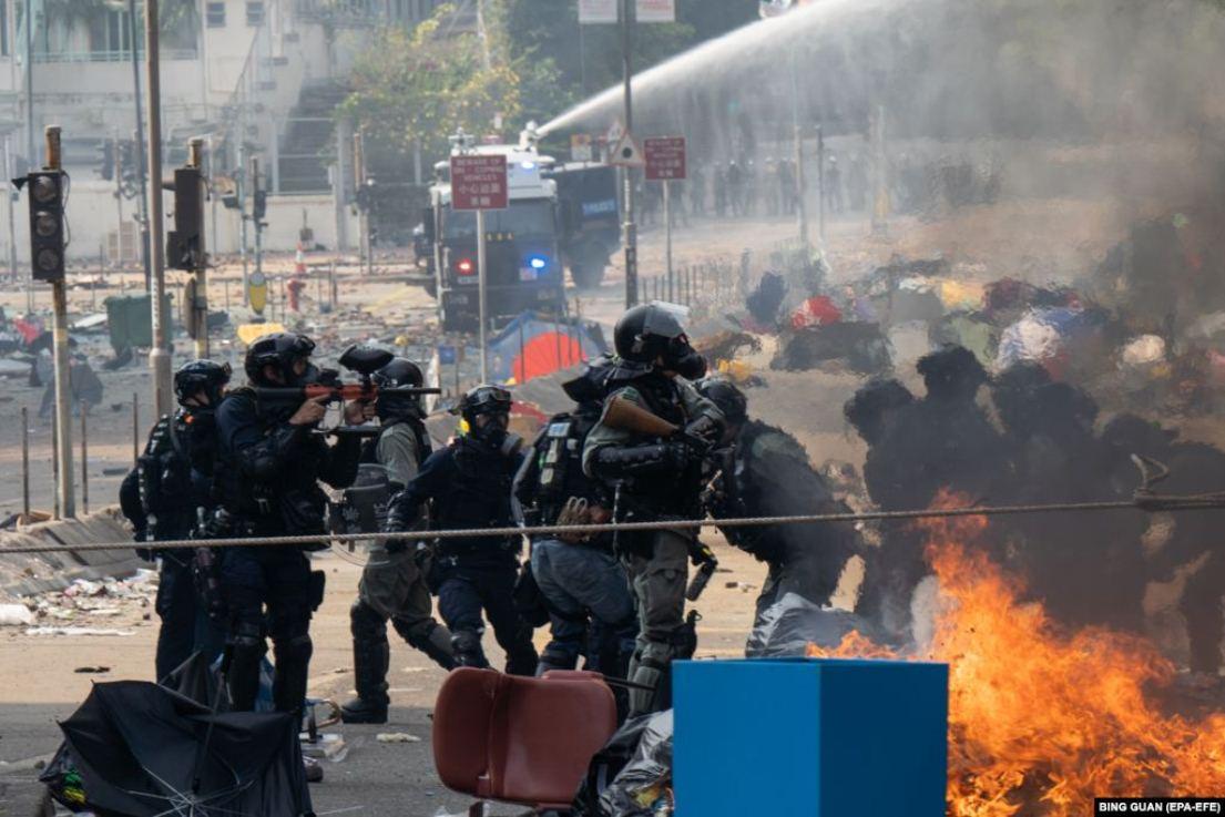 Майдан у Гонконгу: ці кадри шокували світ (фото)