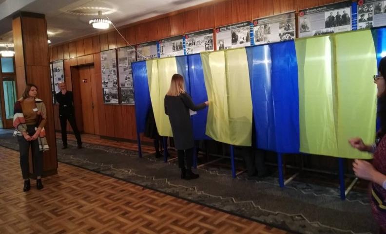 Розпочалися вибори ректора СНУ імені Лесі Українки (фото)