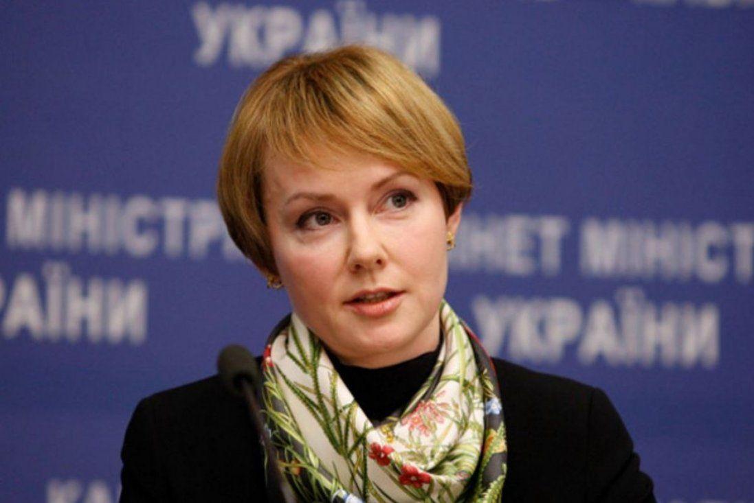 Олена Зеркаль звільняється з посади заступниці міністра