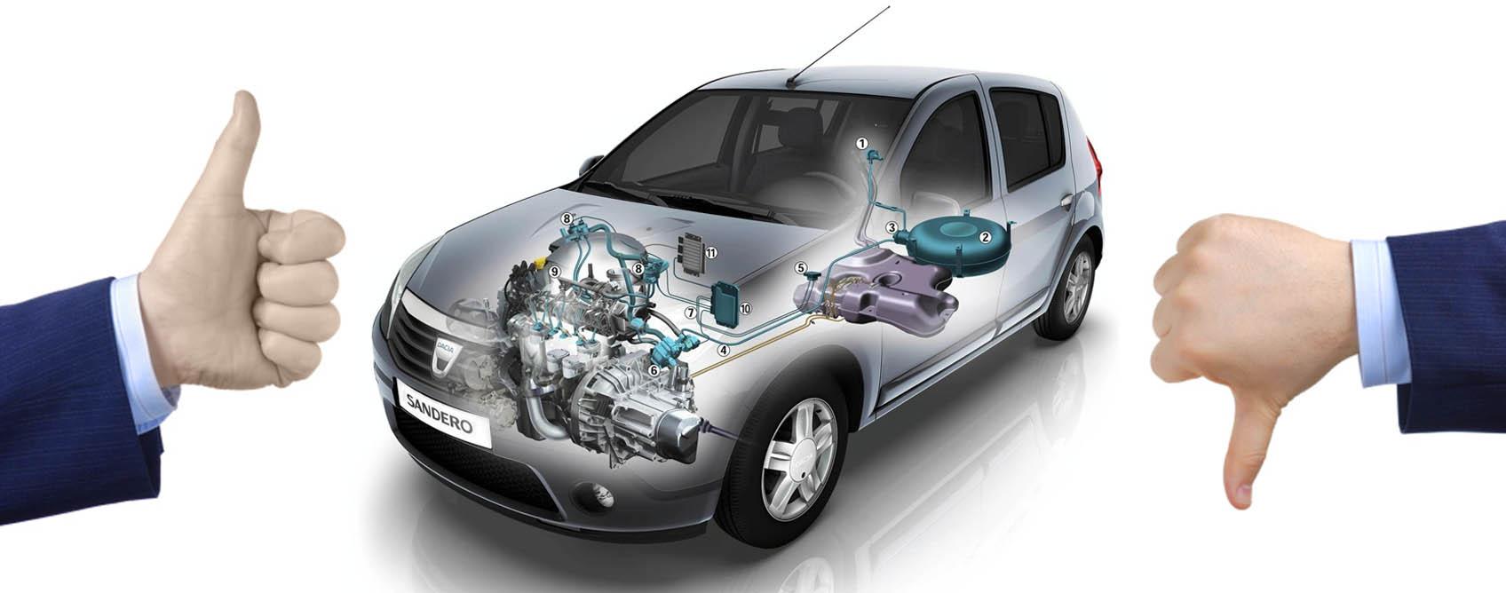 Плюси і мінуси встановлення ГБО на автомобіль