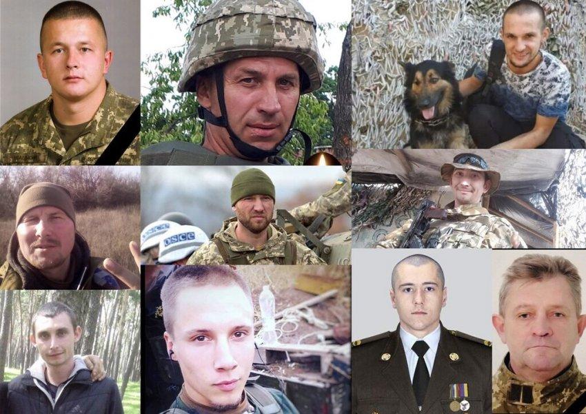 У листопаді Україна понесла тяжкі втрати