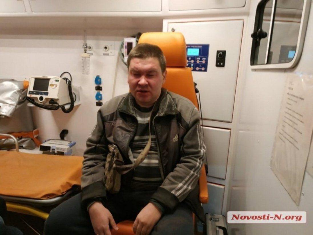 В Миколаєві вже не вперше жорстоко побили місцевого журналіста (фото, відео)