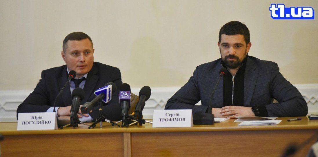 Як Волинь зустрічала нового голову ОДА Юрія Погуляйка (фото)