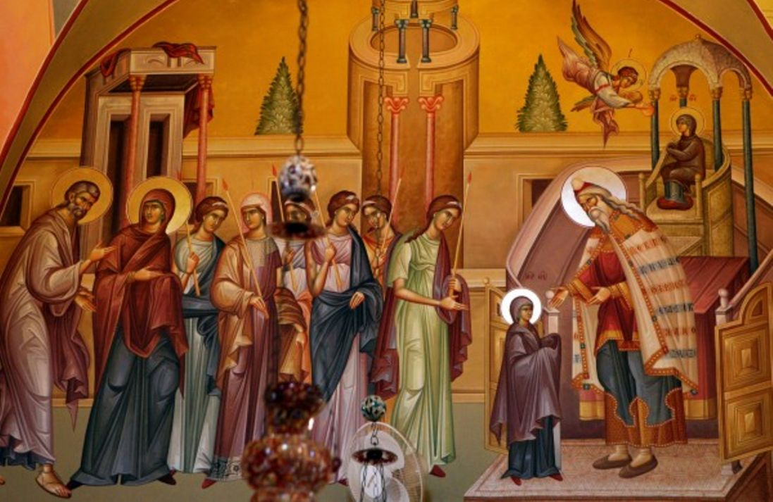 Введення у храм Пресвятої Богородиці: як зображають свято (фото)