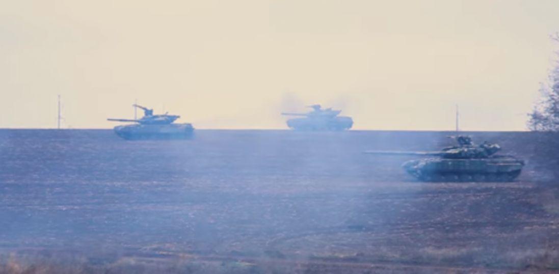 Українські танкісти опублікували вражаюче відео з Донбасу