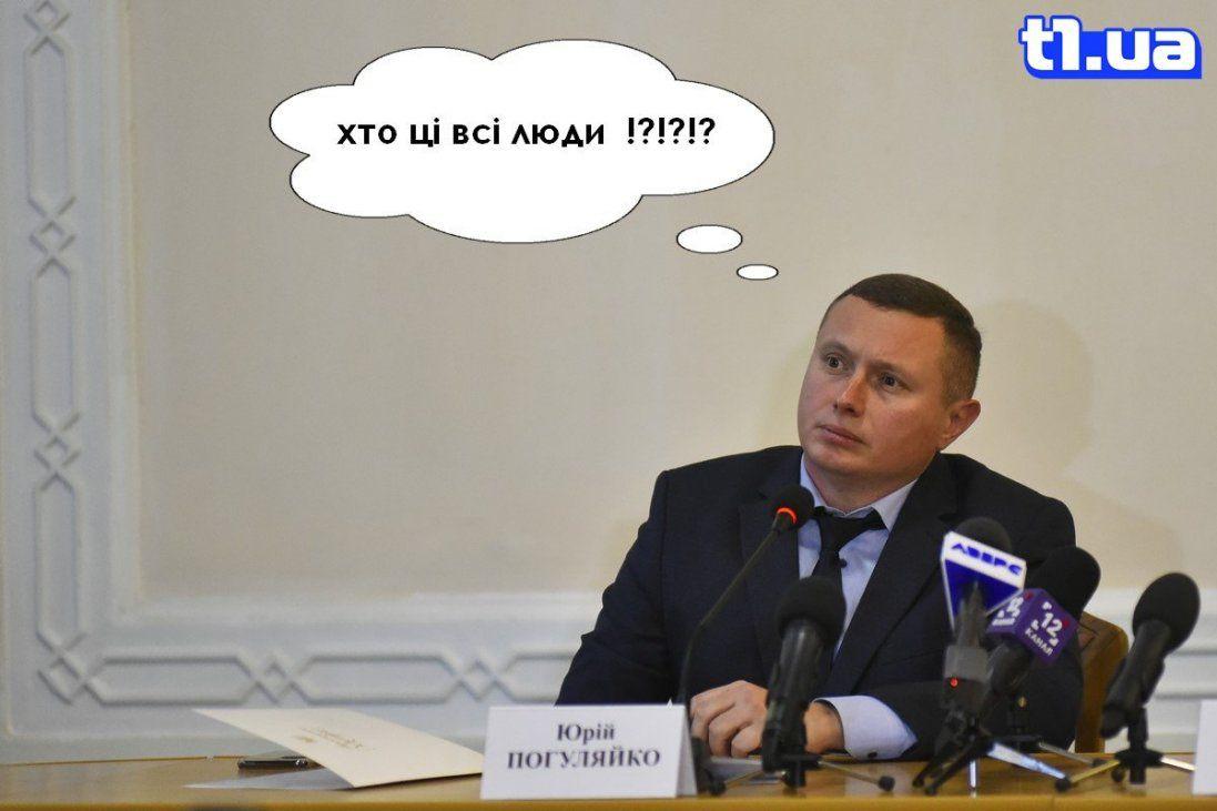 Представлення голови Волинської ОДА очима сатирично-політичного проекту «Квартал 33» (фото)