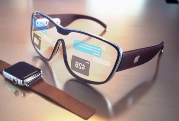 Концепт AR окулярів від Apple