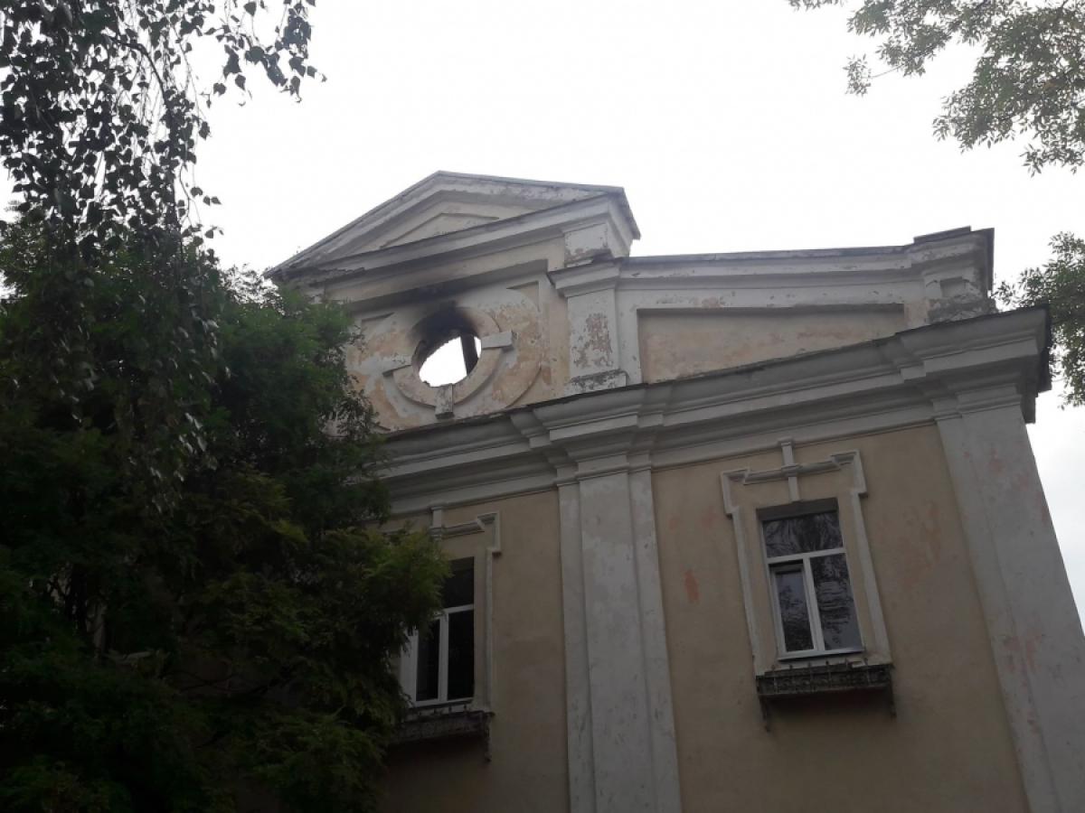 У Луцькому військовому госпіталі майже ліквідували наслідки пожежі