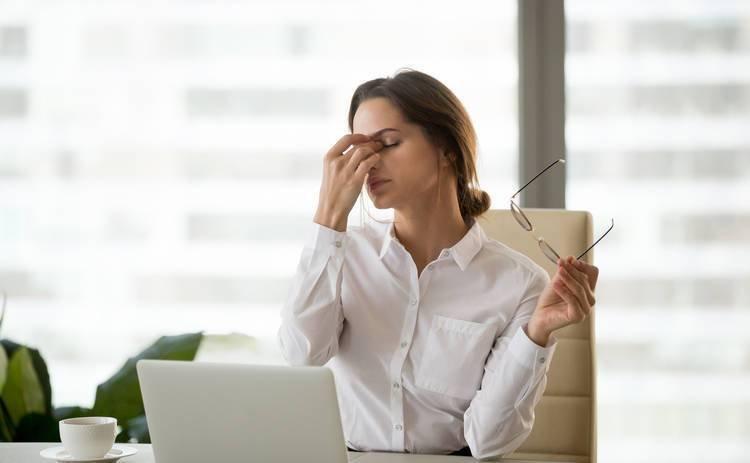 Анемія може викликати хронічну втому і запаморочення