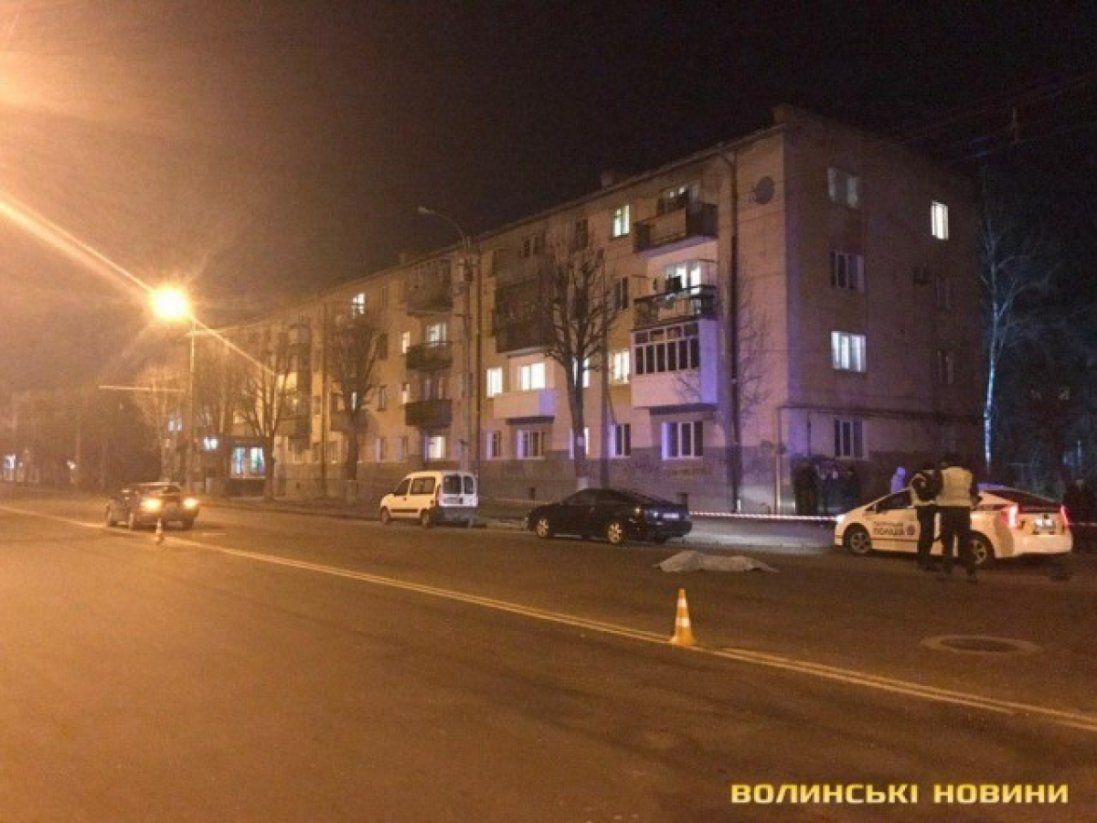 В Луцьку за одну ніч трапились дві летальні ДТП (фото, відео)
