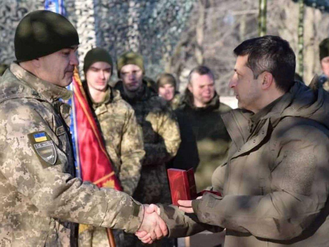 На Волині військовослужбовці отримали державні нагороди від Зеленського