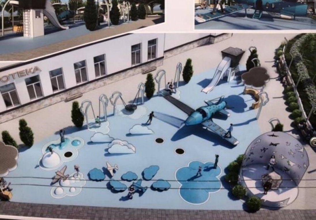 Як проектують сквер авіаторів у Луцьку (фото)