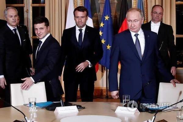 Зеленський і Путін на