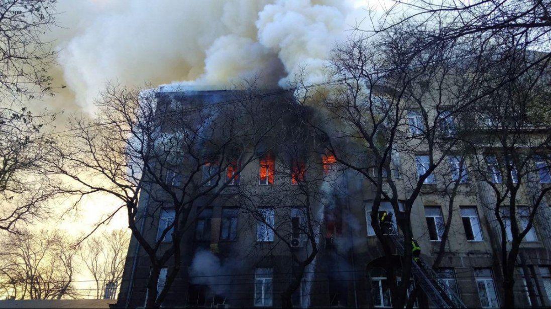 Список загиблих під час пожежі в Одесі